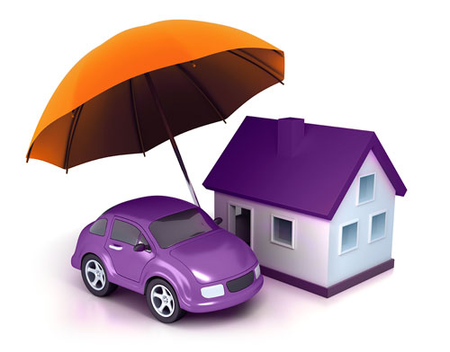 Umbrella-car-home